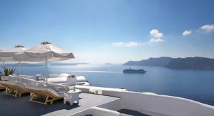 Katikies hotel in Oia Santorini, Greece