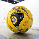 1953 Volkswagen Beetle Crunched Into a Shiny Sphere