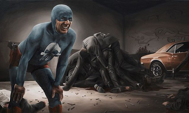 """""""Aging Superhero"""" by Andreas Englund"""