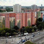 Possibly worlds largest apartment complex mural in Berlin