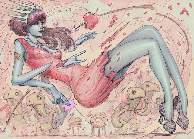 Drawings by Josan Gonzalez