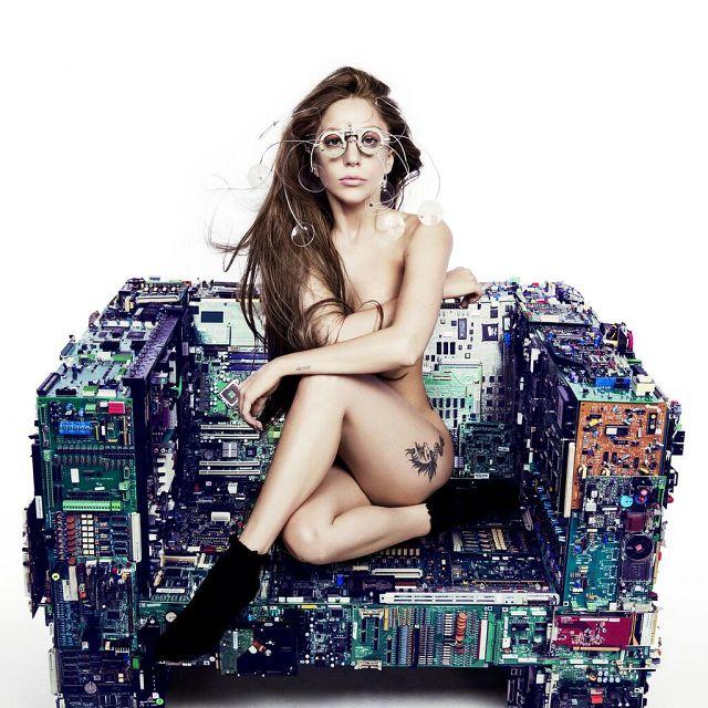 Artwork for Lady Gaga's single from album ARTPOP