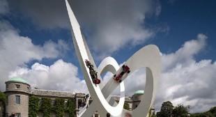 Lotus Central Display by Gerry Judah