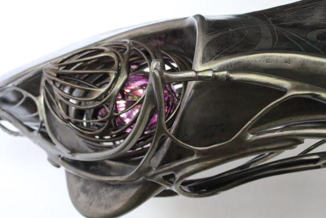 Mechanical sculptures by Patrice Hubert