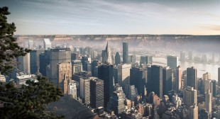 What if New York was built in Grand Canyon – photography by Gus Petro
