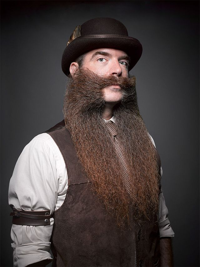 National Beard & Mustache Championships by Greg Anderson