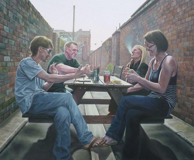 Paintings by Trystram Menhinick