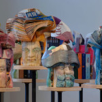 Long-Bin Chen: Recycled book sculptures