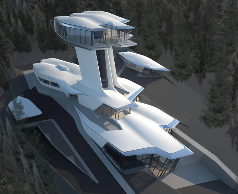 Zaha Hadid Designs Spaceship House For Naomi Campbell