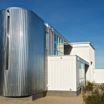 Shipping Container Hybrid House by ecotechdesign